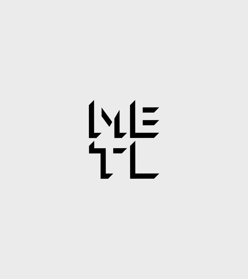 Metl Initials Square
