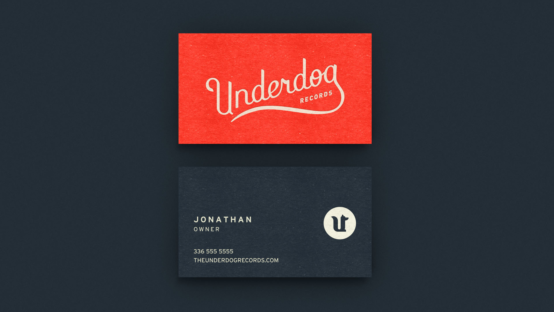 Underdog Business Card