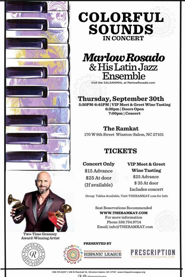 Colorful Sounds: Marlow Rosado & His Latin Jazz Ensemble